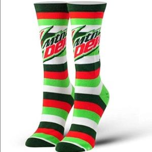 Accessories - Mountain Dew Graphic Print Socks